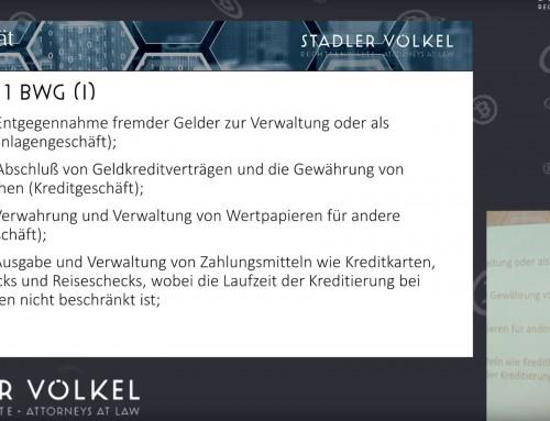 Kryptowährungs-Geschäftsmodelle im Gefüge der Rechtsordnung (Oliver Völkel)