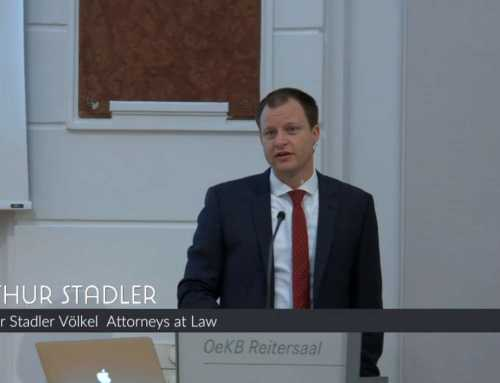 """Blockchain in Austria – Snapshot of the Situation today"", Arthur Stadler"