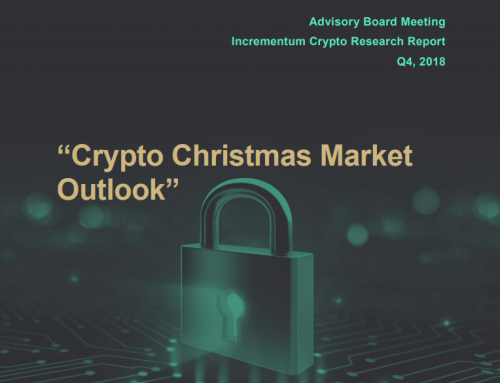"""Crypto Christmas Market Outlook"" Advisory Board Discussion Q4 2018"