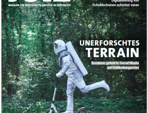 "Artikel ""Unerfotschtes Terrain"" im JUVE Magazin"
