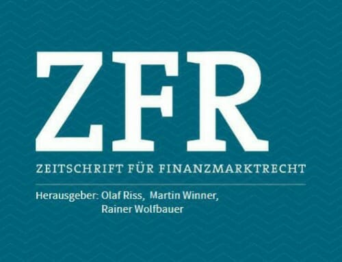 ZFR Forum 2020 Financial market law for science and practice