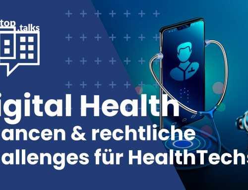 rooftop.talk #14: Digital Health – Chancen & rechtliche Challenges für HealthTechs