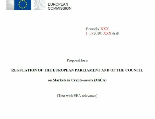 European Commission proposal for new Regulation on Markets in Crypto-assets (MiCA)