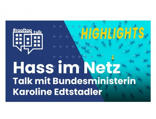rooftop.talk 20 (HIGHLIGHTS 6 min): Hass im Netz