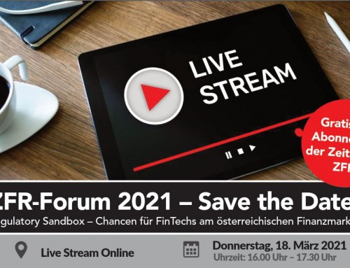 ZFR Forum 2021 goes digital
